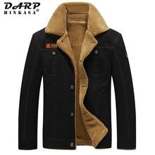 2021 New Winter Warm Men Jacket Casual Military Coat Bomber Parkas Jacket Brand Velvet Thick Jacket Men Plus Size 5Xl