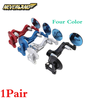 """1Pair 22mm 7/8"""" Motorcycle Bar End Brake Clutch Levers Guard Protector Mirror"""