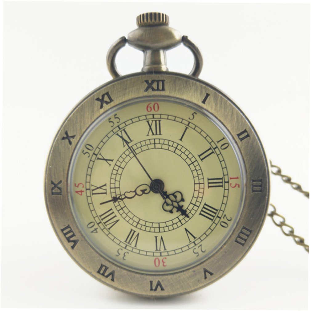 Fashion Quartz Pocket Watch Unisex Necklace Pendant Vintage Watches With Chain Reloj De Bolsillo Best Gifts