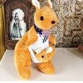 BOLAFYNIA Kinder Plüsch Spielzeug känguru drei farben Baby Kind Stopften Spielzeug känguru puppe|Gefüllte & Plüschtiere|Spielzeug und Hobbys -