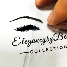 UV Decal Logo Transfer Stickers for Lashes Box Custom UV Transfering Sticker Personalise Eye Lashes Labels Waterproof,personalis