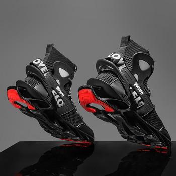 Męskie buty męskie trampki męskie męskie obuwie codzienne tenis luksusowe buty trener wyścig off białe buty modne mokasyny buty do biegania buty meskie tanie i dobre opinie yuzhy Mesh (air mesh) CN (pochodzenie) Przypadkowi buty RUBBER Lace-up Pasuje prawda na wymiar weź swój normalny rozmiar