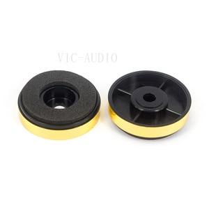 Image 4 - 12PCS 30*8mm Plastic mats Amplifier Feet Speaker Turntable CD Player Computer DAC Machine Feet