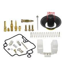 Pd18j pd19j carburador kit de reparação/kit de reparação/membrana diafragma conjunto (16mm) para scooter ciclomotor 139qmb 147qmd