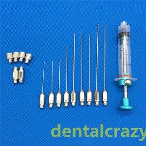 Image 3 - Facial fat filling graft transplantation cannula kit Stem Cell Lipo face Fat Transfer Liposuction needle set Hot Sale