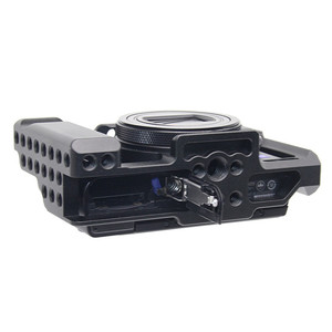 Image 4 - Aluminum Alloy Camera Cage Protective Case for Sony RX100 M7 VII 7 Quick Release Plate Stabilizer Adapter w/ 1/4 Thread Holes