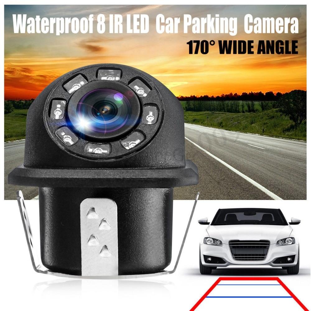 New HD Night Vision Car Rear View Camera 170° Wide Angle Reverse Parking Camera Waterproof CCD LED Auto Backup Monitor Universal (26)