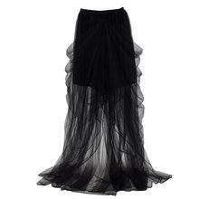 Для женщин Тюлевая юбка из сетчатой ткани вечерние свадебные