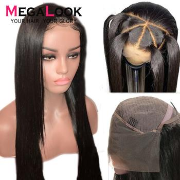 Human Hair Wigs Lace Front Wigs Straight Closure Wig Brazilian Hair Wigs Remy Hair Preplucked Lace Wig For Black Women 13x4