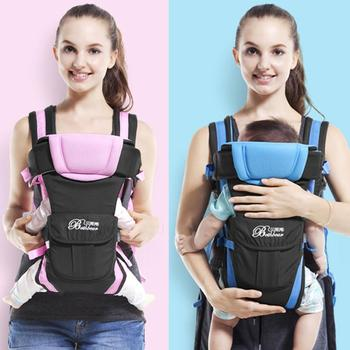 Adjustable Newborn Infant Baby Carrier Comfortable Wrap Rider Sling Breathable Backpack Pouch Shoulder Strap Baby Kangaroo цена 2017