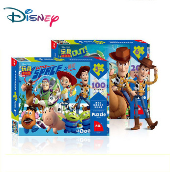 Disney Puzzle Toy Story Puzzle For 100 Pieces 200 Pieces 500 Pieces  Children Puzzle Adult Puzzle Educational Toys 3d Puzzle шарф pieces pieces pi752gwccoj2