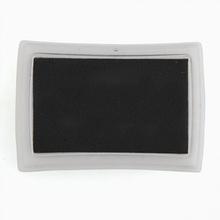 Ink Pad Inkpad Stamp Finger Print Craft Non-Toxic Baby Safe for Paper Scrapbook Wood DIY Kit, Useful  Sponge Black Color