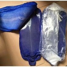 Натуральная редкая особая кожа натуральный жемчуг рыбий кожа темно-синий дьявол кожи, большой размер иглобрюх кожи для сумки пояса diy