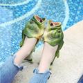 2021 шлепанцы в форме рыбы, модная верхняя одежда, летние шлепанцы для девочек, креативная забавная парная обувь в форме рыбы для родителей и д...