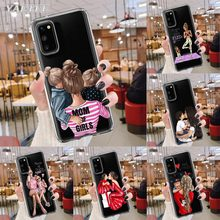case for samsung galaxy s10 s9 s8 plus s20 ultra nillkin super frosted shield back cover for samsung s20 gift phone holder Fashion girl Super Mom baby Phone Case for Samsung Galaxy S10 S20 Ultra S20+ 5G S8 S9 Plus S10 Lite S7 Edge TPU Soft Cover
