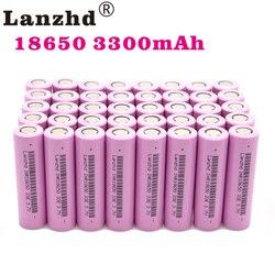 (8-80 Chiếc) 18650 Dành Cho Samsung 18650 Pin Sạc 3.7V 18650 30A 33E Lithium Li Ion 18650VTC7 Dung Lượng Thực 3300 MAh Li-ion