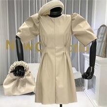 Элегантное платье трапеция нормкор/минималистичное однотонное
