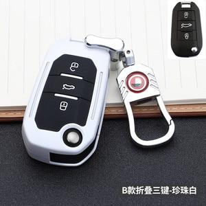 Image 3 - حافظة مفاتيح السيارة مع 3 أزرار لبيجو 107 ، 308sw 407 ، 208 ، 508 ، 408 ، 2018 ، سيتروين C4 ، كاكتوس ، C5 ، C4L ، الملحقات