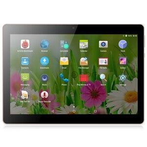 Image 2 - Tableta Pc de 10 pulgadas con Android 7,0, cuatro núcleos, Google Market, tarjeta SIM de llamada telefónica 3G, doble marca CE, WiFi, 10,1 tabletas, diseño Original