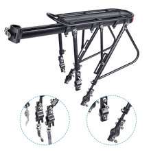 Stand Seatpost Trunk Cargo-Carrier Rear-Luggage-Rack Bike Load Bicycle Deemount Bag-Holder