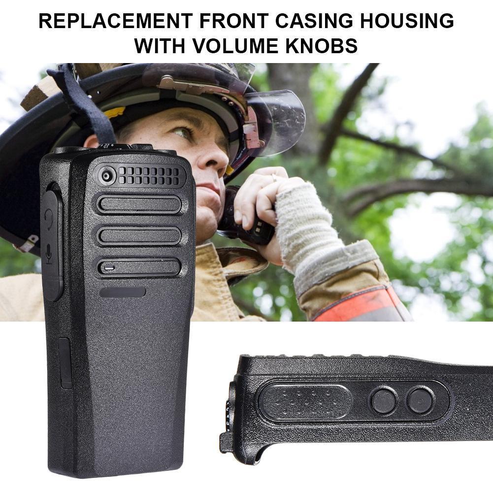 Replacement Front Casing Housing With Volume Knobs For Motorola DP1400 DEP450 Walkie Talkie High Quality Fast Delivery