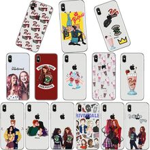 La TÉLÉVISION américaine Riverdale Betty et Veronica L'amitié Southside TPU Étui Pour iPhone 11 11ProMAX 5s 6 6 s 7 8 Plus XR XS MAX(China)