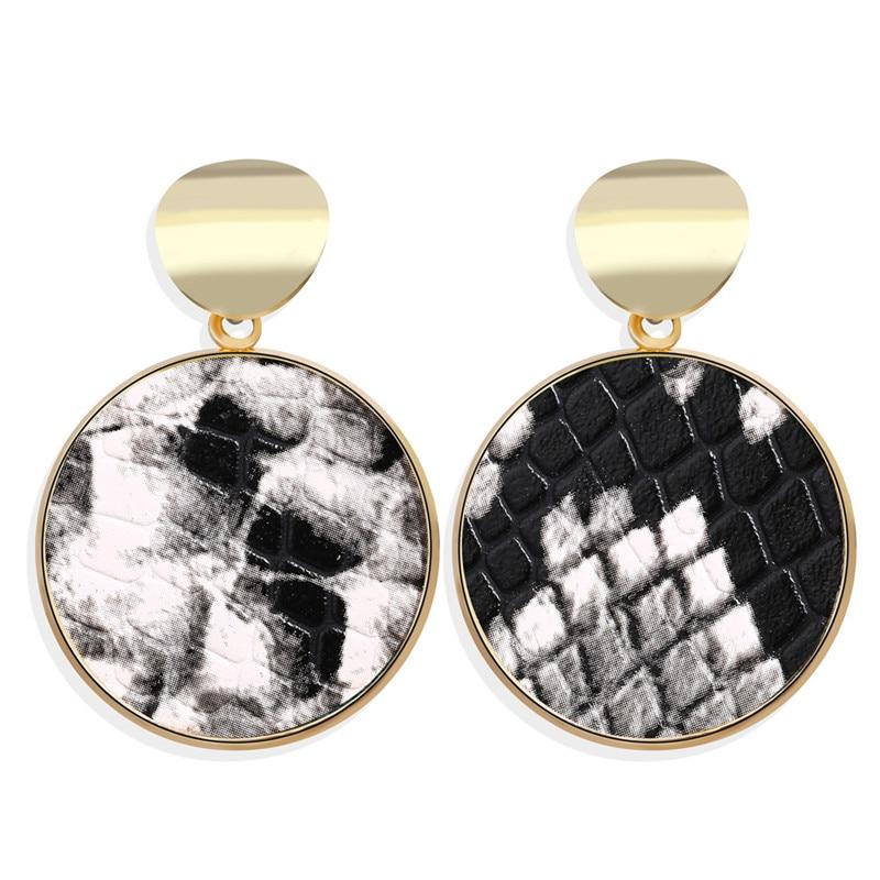 Vintage Earrings 2019 Geometric Shell Earrings For Women Girls BOHO Resin Drop Earrings Brincos Fashion Tortoise Jewelry 45