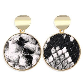 Geometric Shell Earrings For Women Earrings Jewelry Women Jewelry Metal Color: CS5656