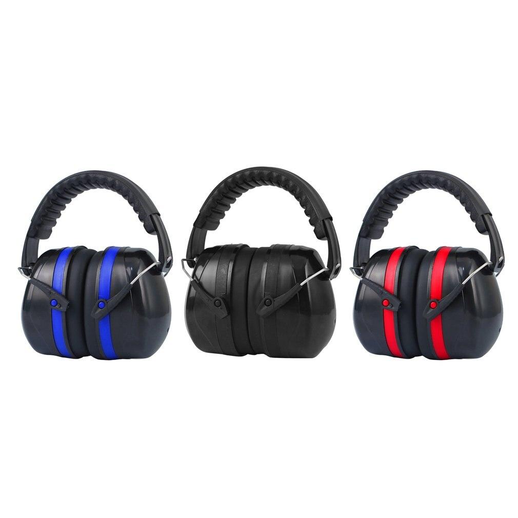 Усиленные звуконепроницаемые наушники, наушники с защитой от шума, наушники для шумоподавления, обучения и сна, наушники с защитой барабана...