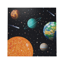 Rocket Space Star Trek Theme Napkin Knitting Paper Knife Placemat Banquet Creative Party