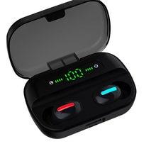 Audifonos q82 auriculares tws mini tamanho super barato handsfree display digital sem fio fone de ouvido