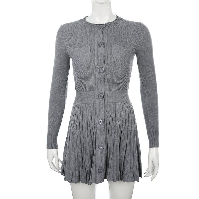 Knitted Sweater Dress (8)
