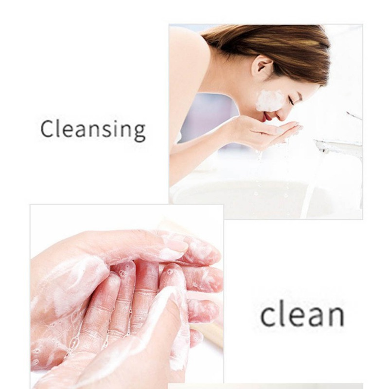 Moisturizing Oil-control Anti-mites Anti-acnes Facial Body Cleansing Soap Cheese Soap Brushed Soap