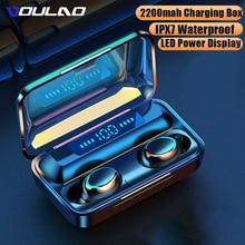 Wireless Headphones TWS Bluetooth 5.0 Wireless Earphones 2200mAh Charging Box With Microphone Sport