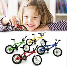 Mini bicycle toy alloy bmx finger model bicycle fans gift bicycle children fun toy novelty gift decoration kids O3U8