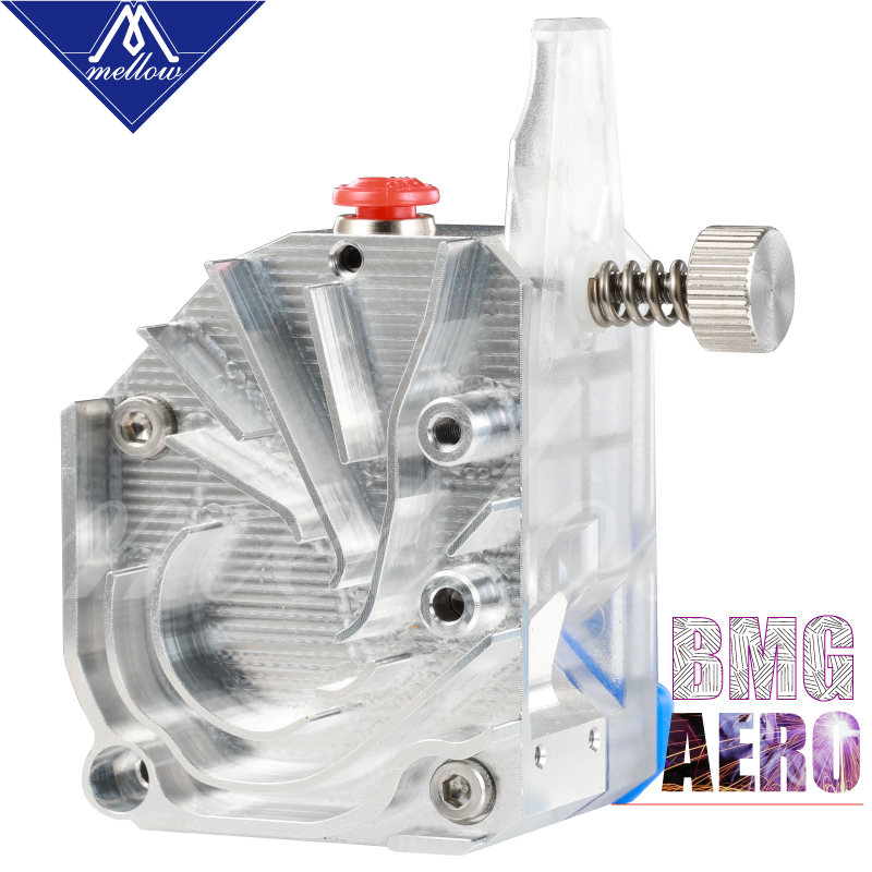 cheapest Mellow NF-BMG Aero V6 HOTEND KIT Clone Aero Structure Extruder Dual Drive BMG Extruder For Ender 3 CR10 Prusa I3 MK3S