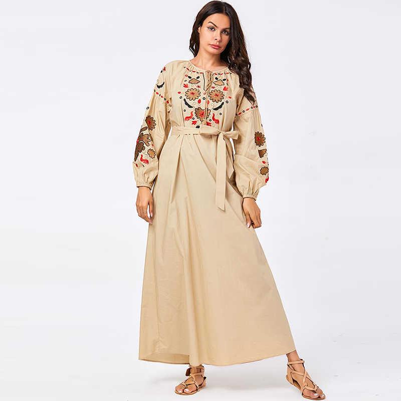 アバヤドバイアラビアヒジャーブイスラム教ドレストルコイスラムカフタンモロッコカフタン Omani ローブ Musulmane アラブドレス Vestidos Compridos