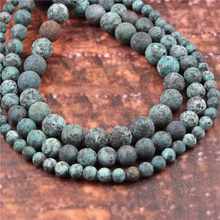 Wholesale Fashion Jewelry Frosted African Pine 4/6/8/10 / 12mm Suitable For Making Jewelry DIY Bracelet Necklace