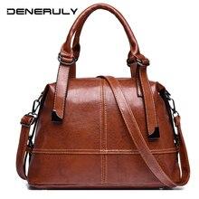 Luxury Brand Female Shoulder Bag Fashion Leather Crossbody Bag 2019 New Vintage Women Messenger Bag High Capacity Tote Bags