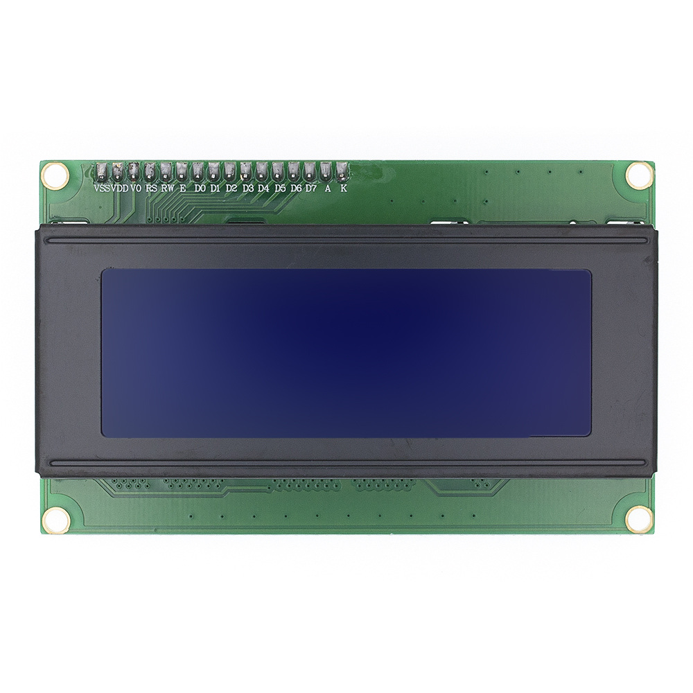 Lcd 2004+ igc 2004 20x4 2004A синий/зеленый экран HD44780 символ lcd/w IIC/igc последовательный интерфейс модуль адаптера для arduino - Цвет: Синий