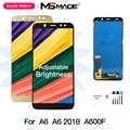 A6 2018 LCD 5,6 ''Ajuste de brillo para Samsung Galaxy A6 2018 A600F A600FN A600 pantalla LCD digitalizador de pantalla táctil A600F pantalla