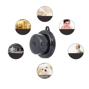 V380 black light infrared high definition night vision 1080 P Built-in microphone Network wifi remote home baby camera