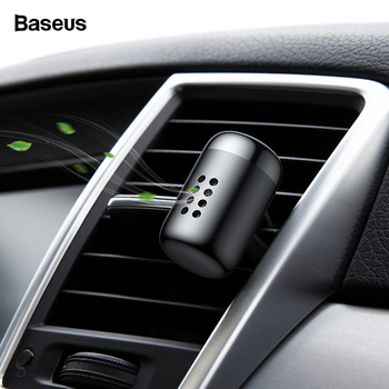 Baseus Mini Aromatherapy Car Phone Holder Air Freshener Fragrance For Car Air Vent Diffuser Air Purifier Solid Perfume Freshener