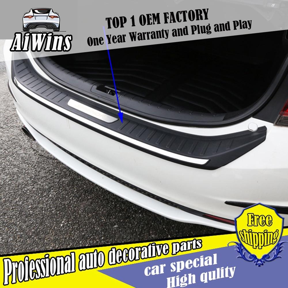 Fit Nissan Murano 2015 2016 2017 Car Rear Bumper Inside Sill Plate Guard Cover