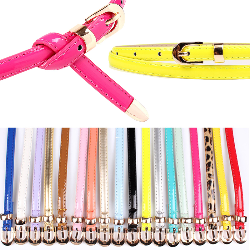 Women's Retro Fashion Luxury Carved Slim Belt With A Variety Of Colors To Choose From With A Variety Of Styles Of Skirt Pants
