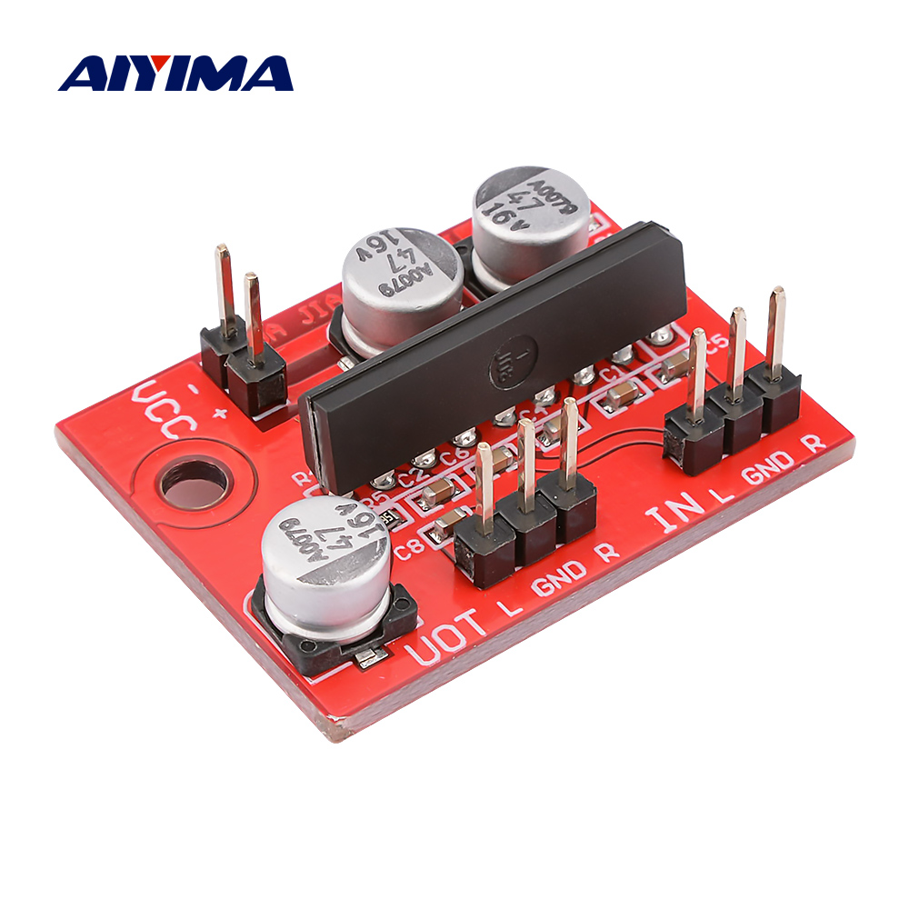 AIYIMA KA22241 YD22241 Preamp Amplifier Mini Magnetic Tape Deck Magnetic Head Pre-amplifier Board With ALC DC5-12V