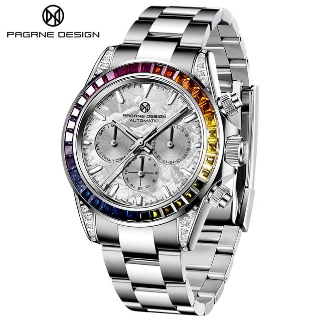 Pagrne Design 1666 Jubilee Men's Sport Watch 2