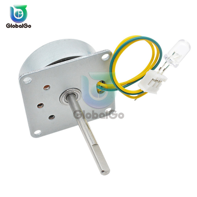 Micro Three Phase AC Wind Generator Turbines Brushless Motor Hand Cranked Generator 3-24V 0.1A-1A 0.5-12W RPM3000-6000 LED 5