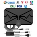 3600 Miles Digital TV Antenna Indoor HDTV Amplified Signal Booster Receiver 4K HD 1080P