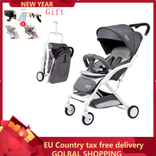 Lightweight Baby stroller 2 in 1 Portable Travel system child stroller Can be on